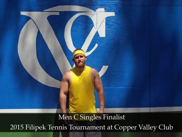 Men C Singles Finalist