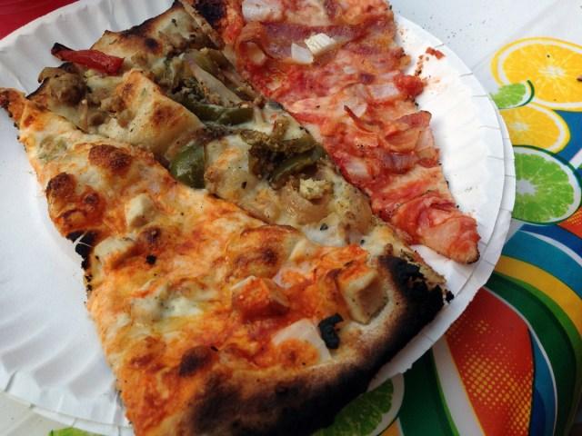 CVC Big Green Pizza Truck pizza