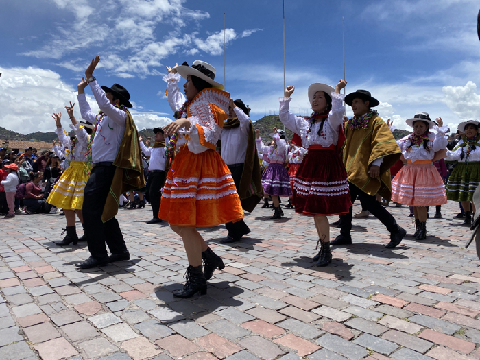 Carnival Dancers in Cuzco