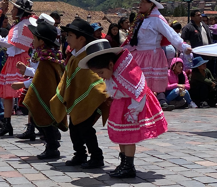 Children Dancing in the Carnival