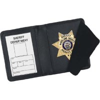 Strong Leather Book Style Badge and ID Wallets - CDCR ...
