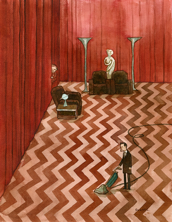 Spring Cleaning in the Black Lodge