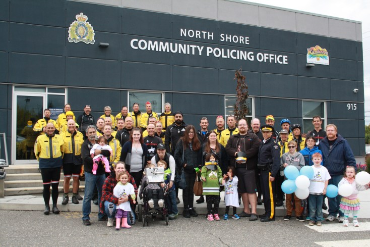 North Shore Community Policing Office — Cops for Kids Ride
