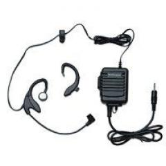 EarHugger BML-1004 LB104 Two-Way Boom Mic Headset with 2