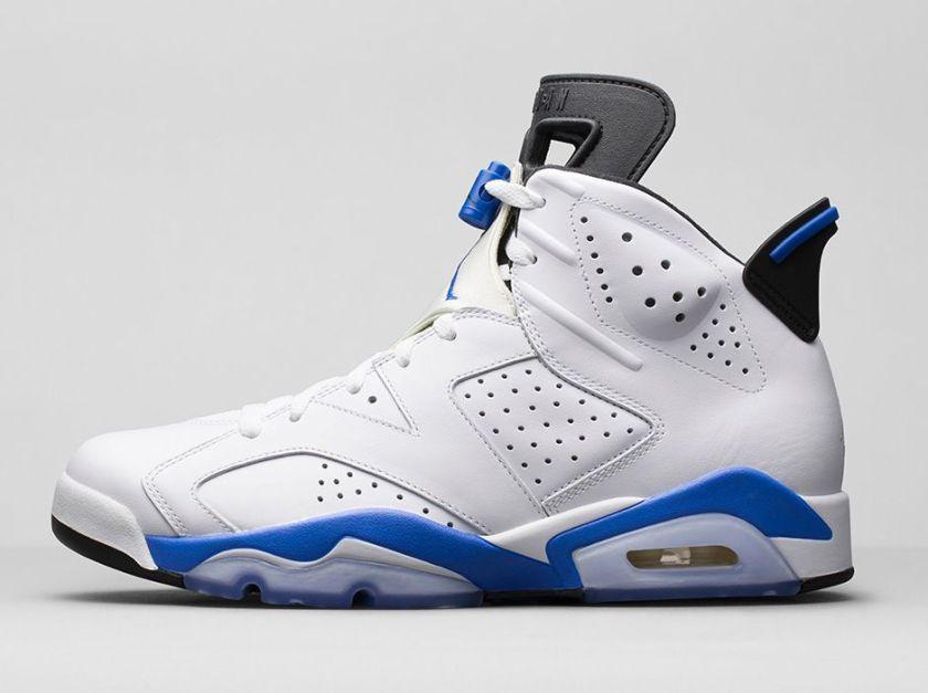 Jordan 6 Retro 'Sport Blue'