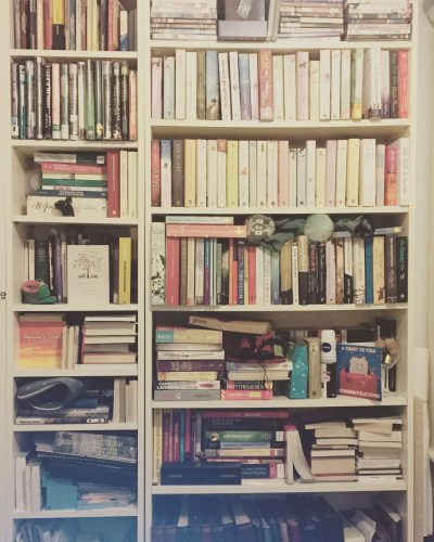 the books in my room
