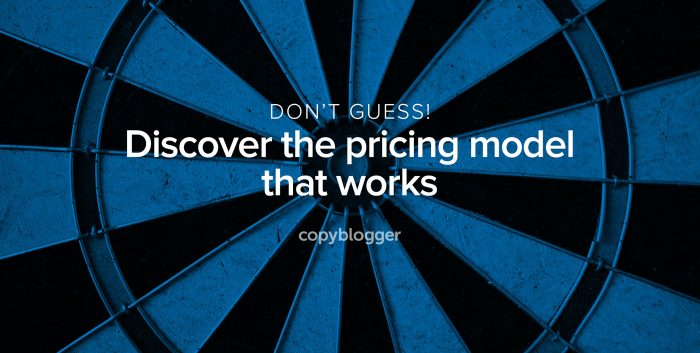 don't guess! discover the pricing model that works