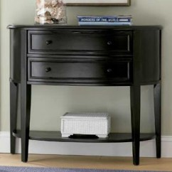 Aidan Gray Sofa Table Bloomingdales Throws | Ballard Design's Newport Demilune - Copycatchic