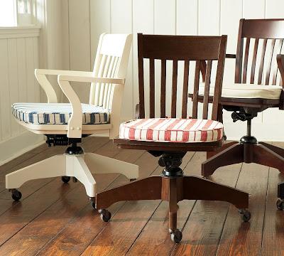 Pottery Barn Swivel Desk Chair Copycatchic