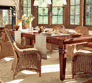 Stunning Pottery Barn Montego Dining Room Table
