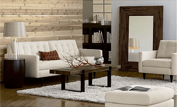 Crate and Barrel Willow Sofa copycatchic