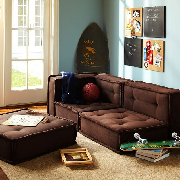 tv lounge sofa set world bed settee pottery barn teen cushy collection - copycatchic