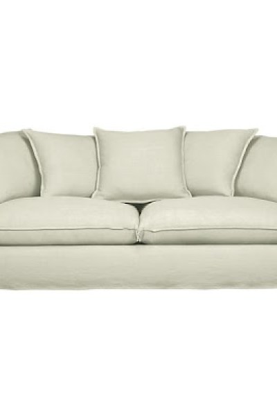 crate and barrel petrie sofa