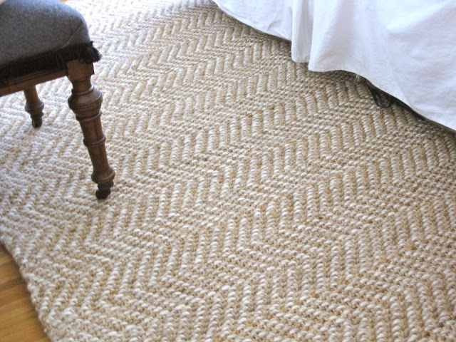 Perfect Elysian Jute Boucle Herringbone Area Rug