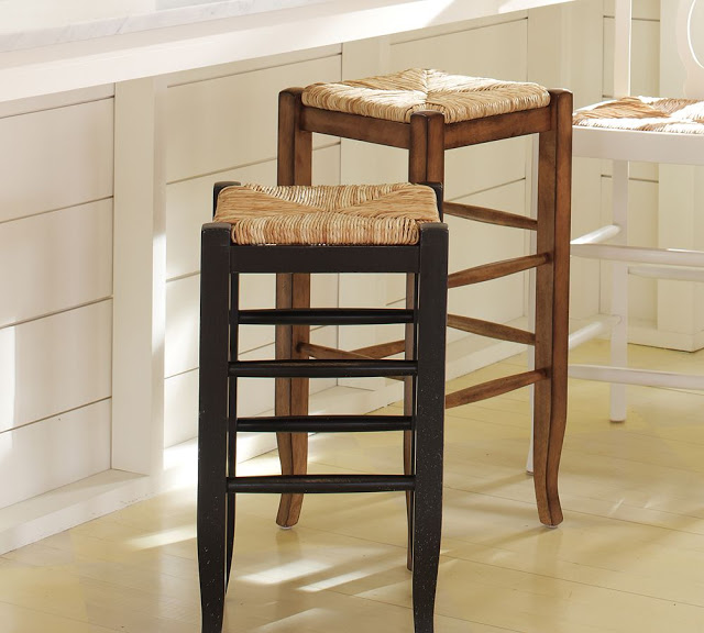 office chair qvc round table with 4 chairs pottery barn napoleon backless barstool - copy cat chic