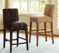 Pottery Barn Seagrass Barstool - Copy Cat Chic
