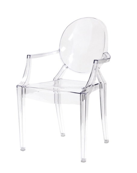 Louis Ghost Armchair by Philippe Starck for Kartell  Copy