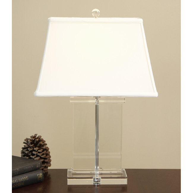 Restoration Hardware Crystal Pier Table Lamp