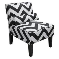 Z Gallerie Chairs Kitchen Walmart Bailey Chevron Accent Chair Copycatchic