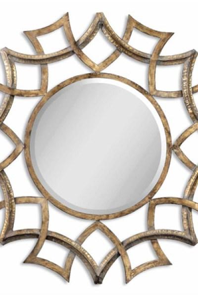 wall mirror clipart. loweu0027s allen roth antique gold demarco mirror wall clipart