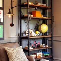 Aidan Gray Sofa Table Dfs Lime Green Restoration Hardware French Library Shelving - Copy Cat Chic