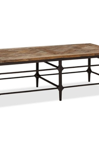 Pottery Barn Bartlett Reclaimed Wood Coffee Table Copycatchic - Pottery barn bartlett coffee table