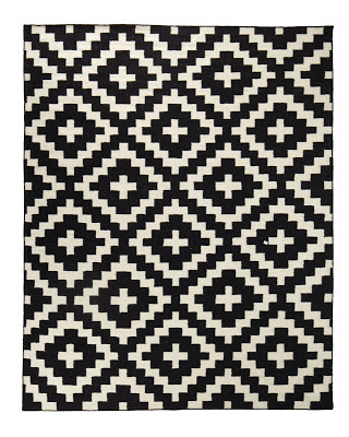 Horchow Aztec Chama Flatweave Rug