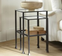 Pottery Barn Tanner Nesting Side Tables - Copy Cat Chic