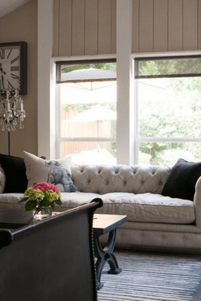 Restoration Hardware Kensington Chesterfield Leather Sofa