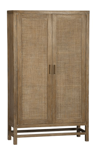 Reader Request | Crate And Barrel Blake Grey Wash 2 Door Cabinet