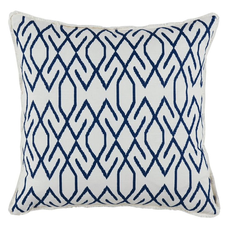 Lacefield Designs Zoe Navy Pillow  Copy Cat Chic
