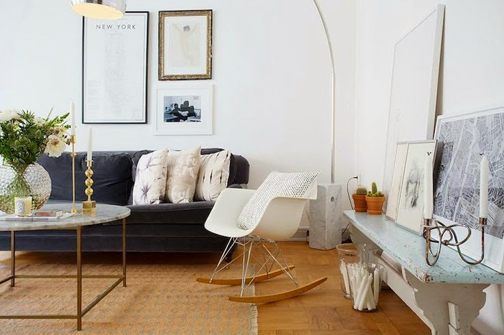 Copy Cat Chic Room Redo  Scandinavian Living Room  Copy
