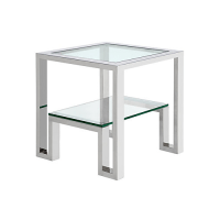 Z Gallerie Duplicity End Table - Copy Cat Chic