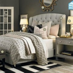 West Elm Sofa Sleeper Throws Uk Cheap Copy Cat Chic Room Redo | Glamorous Gray Bedroom - Copycatchic