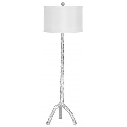 zinc door silver branch floor lamp