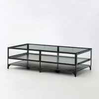 Clayton Gray Shadow Box Coffee Table - Copy Cat Chic
