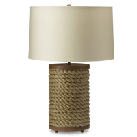 Williams Sonoma Rope Table Lamp - Copy Cat Chic