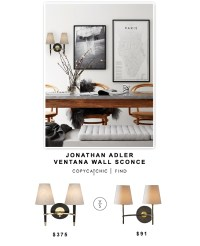 Jonathan Adler Ventana Wall Sconce - Copy Cat Chic