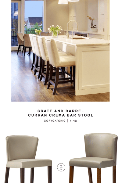Amazing Daily Find Crate And Barrel Turner Bar Stool Copycatchic Pabps2019 Chair Design Images Pabps2019Com