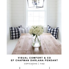 Curtains In Gray Living Room Barbie Furniture Diy Visual Comfort & Co Ef Chapman Darlana Pendant - Copycatchic