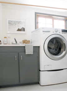 Laundry Room Progress And Lg Giveaway - Copycatchic
