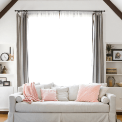 Accessorize Grey Living Room Best Wall Colors For 2016 3 Ways To Style Your Sofa Summer Copycatchic Different Shows You