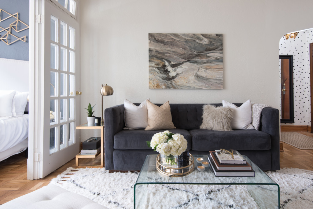 farmhouse glam living room colour trends 2019 copy cat chic redo | neutral luxe ...