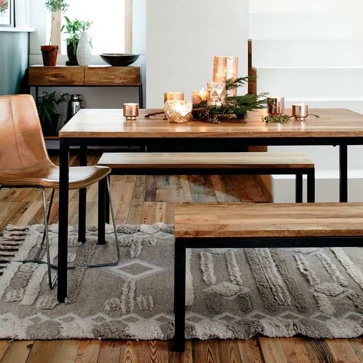 Epic West Elm Box Frame Dining Table