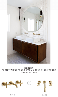 Kohler Purist Widespread Wall