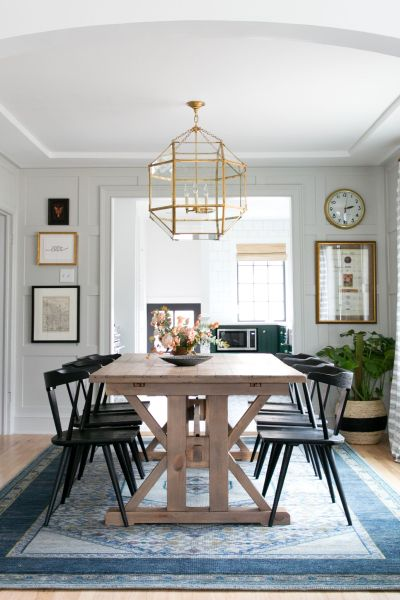 Room Redo | Rustic Transitional Dining Room - copycatchic