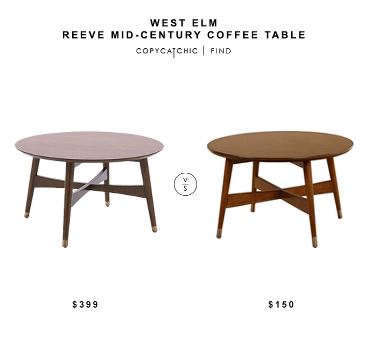 Merveilleux Daily Find | West Elm Reeve Mid Century Coffee Table