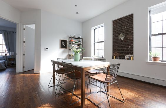 crate and barrel parsons dining table