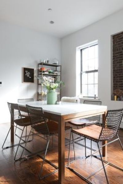 Daily Find | Crate and Barrel French Kitchen Table - copycatchic