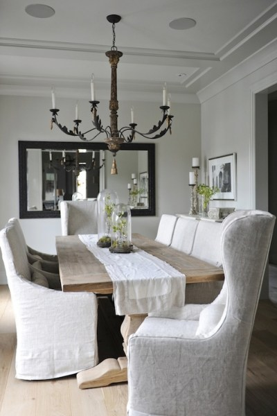 Daily Find   Restoration Hardware Salvaged Wood Trestle Dining Table. Daily Find   Restoration Hardware Salvaged Wood Trestle Round